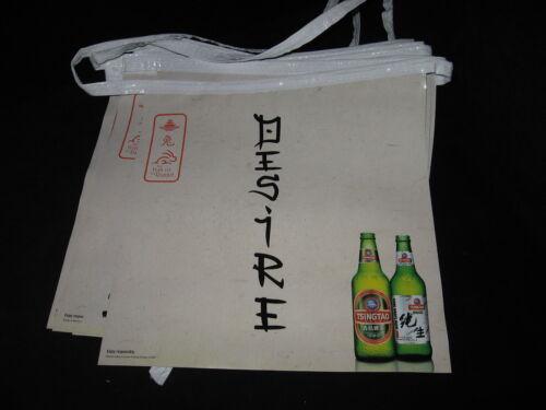 NEW 37/' TsingTao Beer string banner bar sign party China Chinese Dragon Holiday