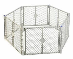NEW-Pet-Dog-Baby-PLAY-PEN-YARD-Safety-Gate-EXPANDABLE-PANELS-Superyard