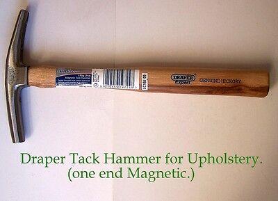 One Draper Hickory handled, Magnetic Tack Hammer for upholstery work.