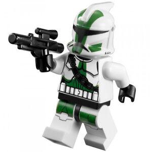 NEW-LEGO-STAR-WARS-CLONE-COMMANDER-GREE-MINIFIG-green-trooper-figure-guy-9491