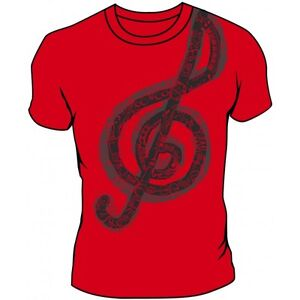 Musical note tee shirt by ralph marlin brand new for Love notes brand shirt