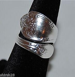 Oneida Vanessa Spoon Right Hand Ring Sterling Silver