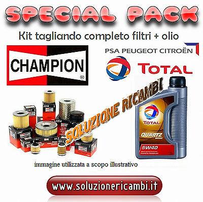 KIT TAGLIANDO FILTRI + OLIO Peugeot 207 1.4 benzina VTi 16V 70kw 95cv