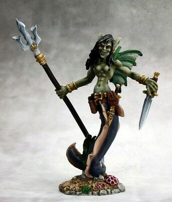 Mab Grindylow Sea Hag Reaper Miniature Dark Heaven Legend D&D Dungeon Wargames