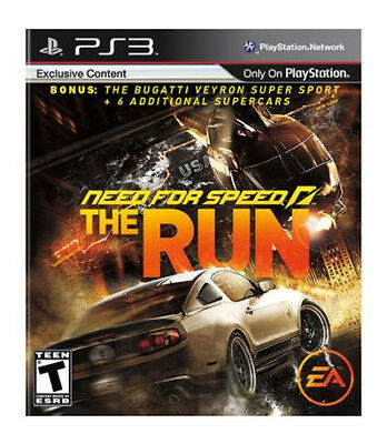 Need for Speed: The Run -- Limited Edition (Sony PlayStation 3, 2011)