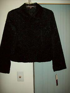 Kvinders Black Nwt 8p Jacket Pantologi Størrelse zrqz1w