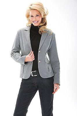 HS Fashion sportlich-eleganter Jersey-Blazer Baumwollmischung 16022
