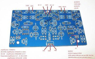 OPA627+K170/J74(2SK170 2SJ74) Audio preamp PCB