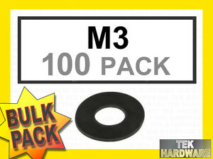 M3-Black-Rubber-Washers-100-Pack