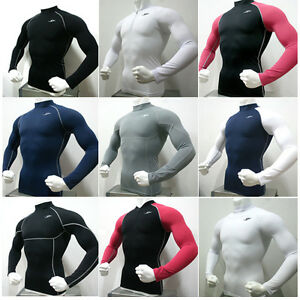 New-Mens-Compression-Under-Base-Layer-Top-Tight-Long-Sleeve-T-Shirts-Collection1