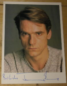 JEREMY-IRONS-VERY-RARE-HAND-SIGNED-AUTOGRAPHED-PROMOTIONAL-POSTCARD