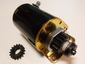 16-tooth-Starter-Motor-replace-Briggs-and-Stratton-short-amp-fits-Ride-On-Mower