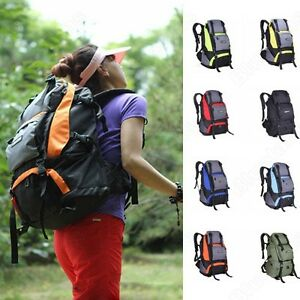 40L-5L-Waterproof-Nylon-Backpack-Outdoor-Camping-Mountaineering-Hiking-Bag