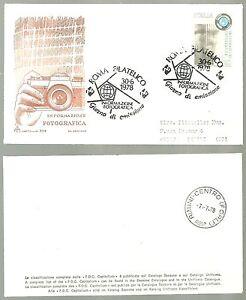 ITALIA-BUSTA-CAPITOLIUM-ARIMINUM-1978-Informazione-FOTOGRAFICA-FDC-SPECIALE-ROMA