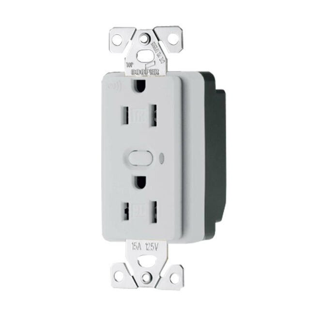 UNITS Cooper RF9505-TSG Aspire RF Z-Wave 15A Wireless  Outlet