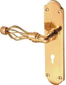 EUROLINK-JALI-LOCK-HANDLE-IN-POLISHED-BRASS-FINISH