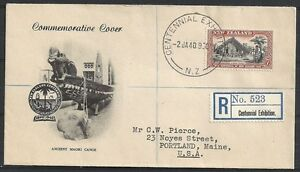 New Zealand covers 1940 R-cover CENTENNIAL EXHIBITION