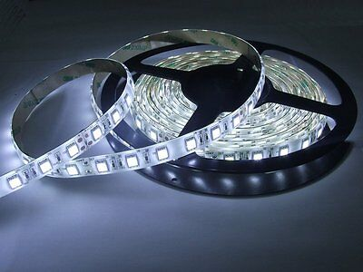 Kitchen Cabinet Counter LED Tape Lighting 5M 16 ft Strip SMD3528 300 LEDs WHITE
