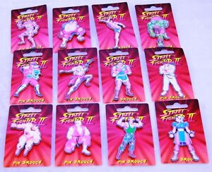 STREETFIGHTER-Set-of-badges-made-in-1993-by-DUFORT-amp-SONS-LTD