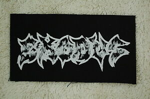 Exodus-Metallica-Slayer-Venom-Napalm-Death-Rock-Metal-Cloth-Patch-CP173