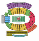 Wisconsin Badgers Football vs Michigan State Spartans Tickets 10/27/12 (Madison)