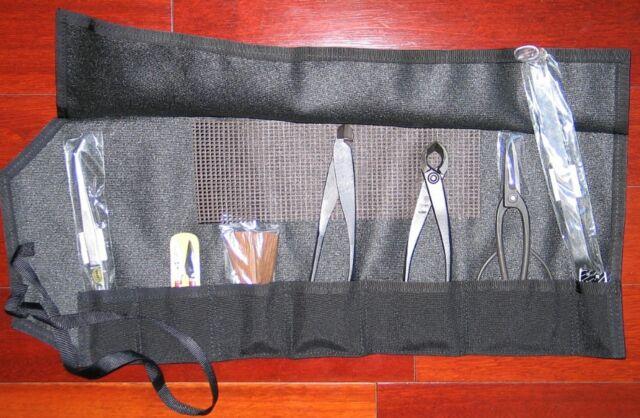 Bonsai Tool Kit 9 PC Novice /W Roll 9902B Josuha Roth