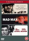 Mad Max / Lethal Weapon / We Were Soldiers - (DVD) (DVD, 2004, 3-Disc Set)