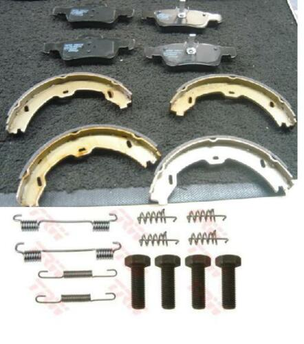 MERCEDES CLS320 CLS350 CLS500 REAR BRAKE PADS HANDBRAKE SHOES FITTING KIT