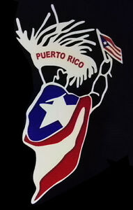 Puerto Rico Car Decal Sticker With Flag 158 Ebay
