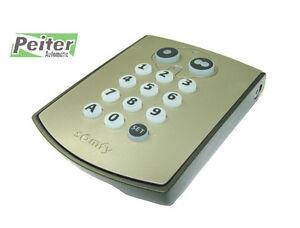 2 channel somfy digipad rts wireless code keypad catalogue number 1841030 ebay. Black Bedroom Furniture Sets. Home Design Ideas