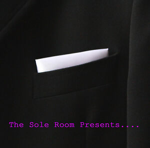 WHITE-STRAIGHT-POCKET-HANDKERCHIEF-FOR-SUIT-JACKETS-CROMBIES-MOD-INDIE-SCOOTERS