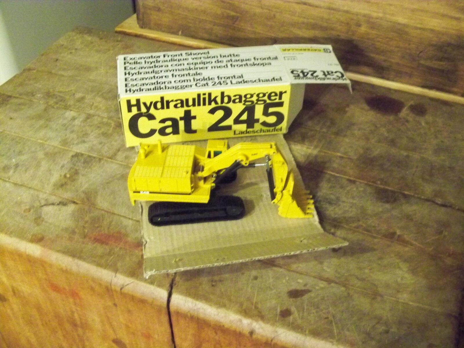 NZG No 177 Cat Cat Cat 245 (Caterpillar) Toy and Box are Mint German 0fb776