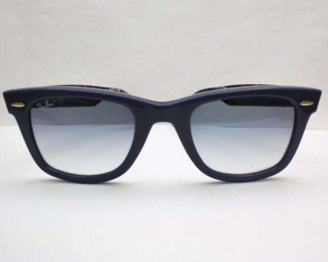 New Ray Ban Wayfarer Special Series # 5 Blue Sunglasses RB2140 1092/3F 50 $160
