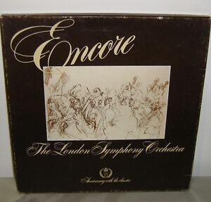 Encore The London Symphony Orchestra LP BOX Brahms Bizet Berlioz Strauss Verdi - Deutschland - Encore The London Symphony Orchestra LP BOX Brahms Bizet Berlioz Strauss Verdi - Deutschland