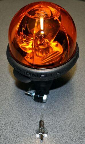 Rundumleuchte Saturnello H1 biegsamen Gummischaft 12V/&24V