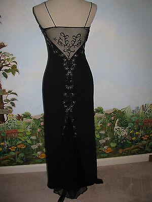 Dave & Johnny Dress Formal / Evening Black Back Lace Women Dress Size 3/4
