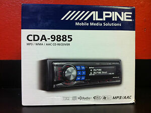 Alpine-CDA-9885-CD-MP3-In-Dash-Receiver-BRAND-NEW-FREE-SHIPPING