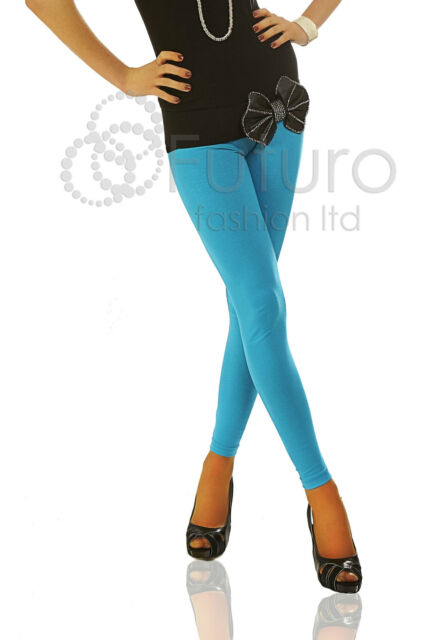 Winter Thick Cotton Leggings Full Length All Sizes 8 - 28 Multicolours