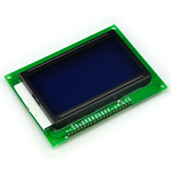 12864 128x64 Dots Graphic Blue Color Backlight LCD Display Module For Arduino
