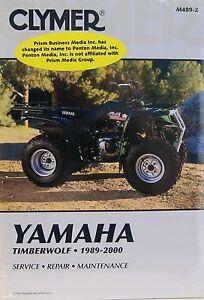 1989 1991 yamaha yfm250 moto 4 250 clymer repair manual. Black Bedroom Furniture Sets. Home Design Ideas
