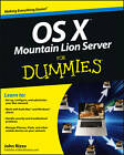 OS X Mountain Lion Server For Dummies by John Rizzo (Paperback, 2012)