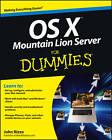 OS X Mountain Lion Server For Dummies by John Rizzo (Paperback, 2012)