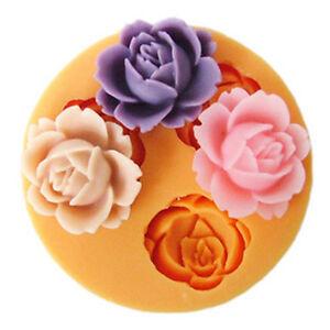 Mini-Flower-Shape-Silicone-Mold-Chocolate-Jello-Maker-Handmade-Soap-Candle-Mould