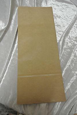 (GP:012€/Tüte) 100 Teetüten  f. 50g Tee Blockbeutel naturbraun Beutel Verpackung
