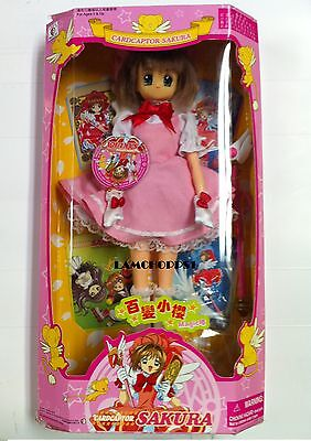 "CardCaptor Sakura Doll 12"" NIB Card Captor Action Figure"