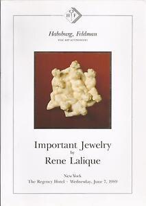 HABSBURG-FELDMAN-IMPORTANT-JEWELRY-RENE-LALIQUE-Auction-Catalog-1989