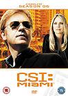 C.S.I. - Crime Scene Investigation - Miami - Series 6 - Complete (DVD, 2010, 6-Disc Set, Box Set)