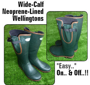 WELLIE-Muck-Boots-Quality-Neoprene-Lined-Outdoor-Fishing-HUNT-Riding-NLW