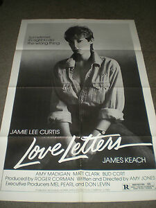 Love Letters Jamie Lee Curtis Original Poster 1983 Amy