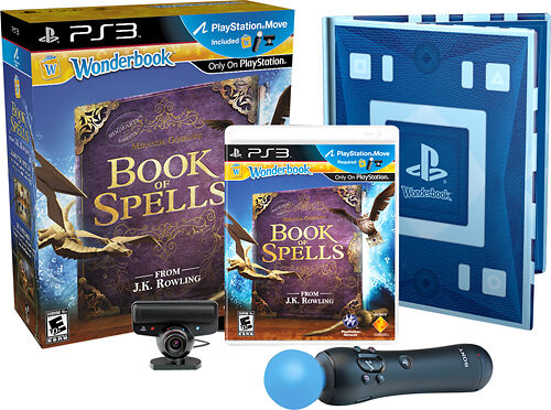 BRAND NEW WONDERBOOK: BOOK OF SPELLS MOVE BUNDLE- PS3